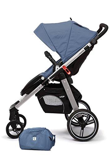 Casualplay Loop - Silla de paseo con chasis de aluminio, color lapis lazuli (azul)