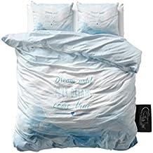 SleepTime Juego De Funda Nórdica Dream  Azul 200 x 220 cm + 2/60 x 70 cm