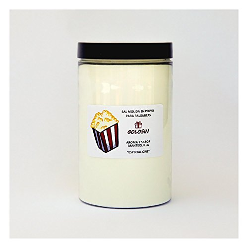 Fein gemahlenes Salz für Popcorn. Die geheime Zutat für das authentische Popcorn wie im Kino....