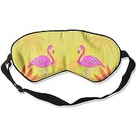 Comfortable Sleep Eyes Masks Shy Flamingo Printed Sleeping Mask For Travelling, Night Noon Nap, Mediation Or Yoga preisvergleich bei billige-tabletten.eu
