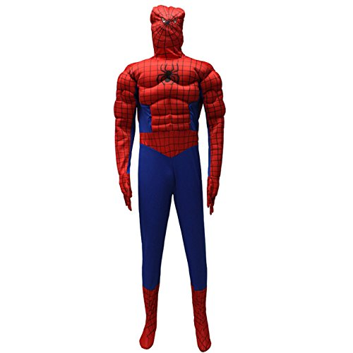 DLucc Halloween-Kostüme Tanzpartys siamesische Kleidung Liebhaber Spiderman Spiderman , # (Spiel Spider Man Kostüme)