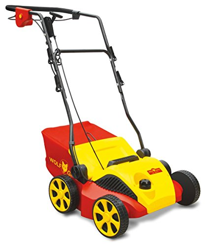 WOLF-Garten VA346E 34 cm 1600 W Electric Scarifier – Red/Yellow