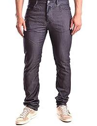 Galliano Herren MCBI130113O Blau Baumwolle Jeans