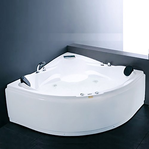 LUXUS4HOME Whirlpool Boras 2 Pers. Eckwhirlpool 150 x 150 cm