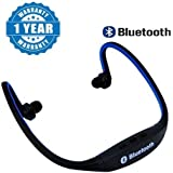 Drumstone MPBL-020 Wireless Bluetooth Sports MP3 Player With FM/MicroSD Card Slot Functions Works With All Android Or Iphone Devices (1 Year Warranty, Color May Vary)