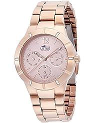 Lotus 15915/2 - Reloj de pulsera Mujer, Acero inoxidable, color Oro Rosa