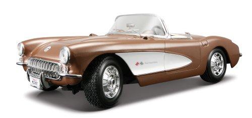 Maisto 31139 - Chevrolet Corvette 57 1:18, Colori Assortiti