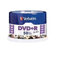 ‏‪Verbatim Life Series DVD+R Spindle, Pack of 50‬‏