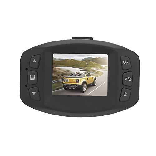 TIANZZ Auto-Fahren-Recorder WDR des Schlag-Nocken-1080P FHD DVR 1,5 Zoll-LCD-Bildschirm errichtet in der G-Sensor-Schleifenaufnahme und Bewegungserkennung,Black