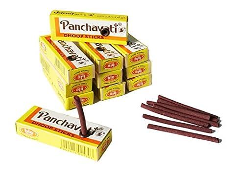 Räucherstäbchen Räucherwerk Weihrauch / Boswellia – Panchavati Dhoop Natur Sticks /12Schachteln