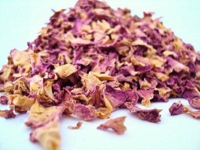 Bulk Herbs: Rose Petals - Pink (Organic)