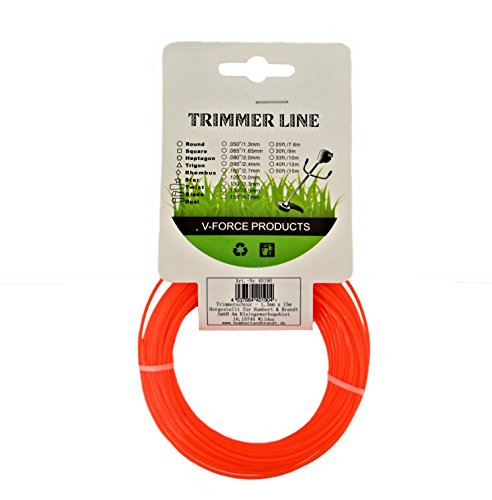 Trimmerschnur Trimmerleine Trimmersehne Trimmer 1,3 mm x 15 m