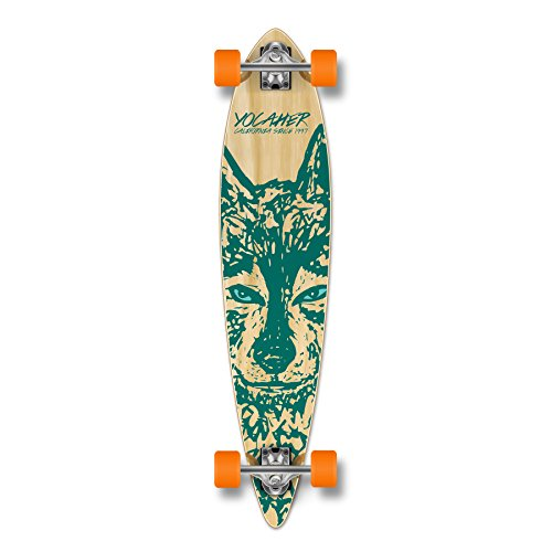 Yocellow Spirit Wolf Longboard Cruiser - in