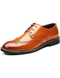 Scarpe da Uomo in Pelle Caso Basso Commerciale Piastra per Uomo Scarpa  Scarpa in Antiscivolo Impermeabile 0b3a71f8cf6