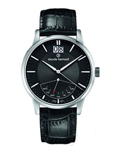 Claude Bernard by Edox Classic Retrograde orologio da uomo 41001.3.Nin Swiss
