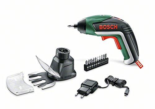 Bosch Set IXO Garden 215RPM 3.6V Ión de litio Negro, Verde atornillad