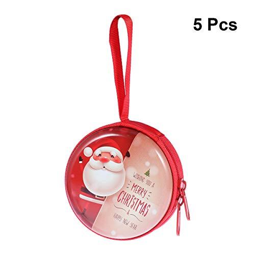 BESTOYARD 5 stücke Süßigkeiten Aufbewahrungsbox Baum Hängende Box Fall Münzen Headset (Muster 12)