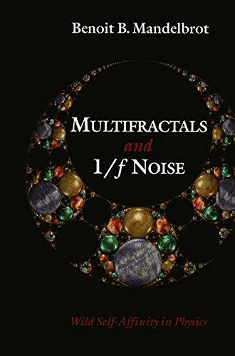 MULTIFRACTALS AND 1/f NOISE. : Wild self-affinity in physics (1963-1976) par Benoit B. Mandelbrot