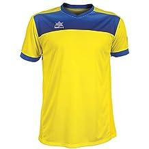 Luanvi Bolton Camiseta Manga Corta de Tenis, Hombre, Amarillo, L