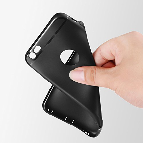 Ultra Dünn [ Passt Perfekt ]Feder Leicht Soft Flex Silikon Hülle Für Apple iPhone Bumper Cover Schutz Tasche Schale 6/6s Grau Gold