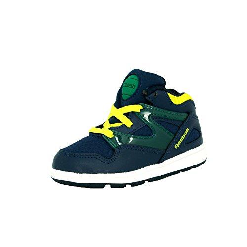 reebok-classic-versa-pump-omni-lite-scarpe-sneakers-moda-blu-giallo-per-bebe