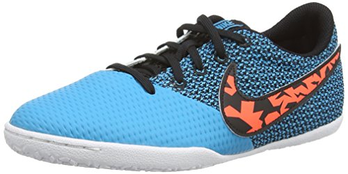 Elastico Fußballschuh (Nike Elastico Pro III IC Jr, Unisex-Kinder Fußballschuhe, Blau (Bl Lagoon/TTL Crmsn-blk-White), 28 EU)