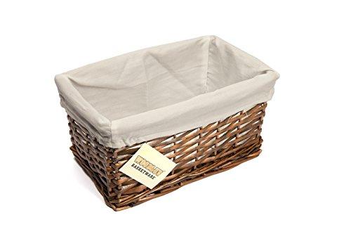 dark wicker baskets wicker baskets amazoncouk