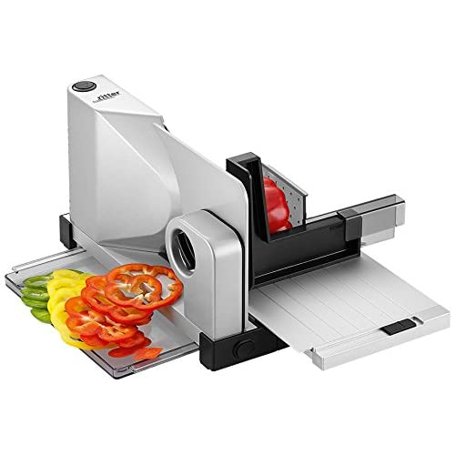 41Ueoqdd%2B3L. SS500  - ritter icaro 7 Electric Food Slicer with eco Motor, Made in Germany, Full Metal, 65 W