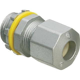 Arlington Industries LPCG50Z 1/2-Inch Low-Profile Strain Relief Cord Connectors, 25-Pack