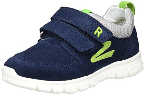 Richter Kinderschuhe Run, Sneakers basses garçon Blau (atlantic/flint/apple)