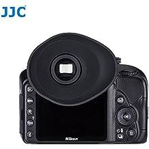 JJC en-3g Visor Ocular para con gafas (Compatible con cámaras Nikon cuadrado oculares D3400, D5500, D3300, D3200, D3100, D750, D610, D600, D5200, D7100, D7200, D5200, D5600etc.)