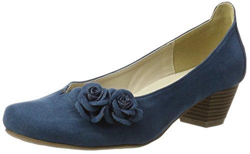 HIRSCHKOGEL by Andrea Conti Damen 3004509 Pumps, Blau (Jeans), 40 EU