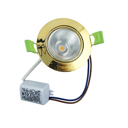 JMTH0007 COB2.5 professionelle bruchsicher, Drop-Proof, feuerfest, extrem niedrige Energie LED Decke Spotlight - 330LM - Farbe Temp 3000 K - Power 3W - Drop-decke-zubehör
