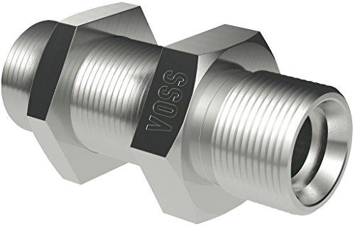 VOSS 137152066 Gerade Schottverschraubung, SV 12-L (3-er Pack)