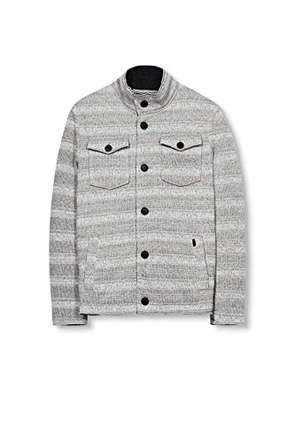 edc by Esprit 116cc2g008, Manteau Homme Gris (light Grey 040)