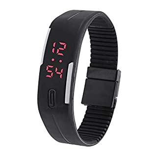 amazingdeal Digital Elektronische LED-Uhr Touch Outdoor Sports Armband Unisex Armband