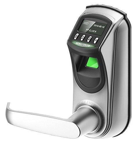 ZKTeco Digitales Türschloss automatischer türöffner elektrisch, Türschloss Smart Hause Fingerabdruck Schloss Sicherheitsschloss Sicherheit Tür Fingerabdruck Schloss