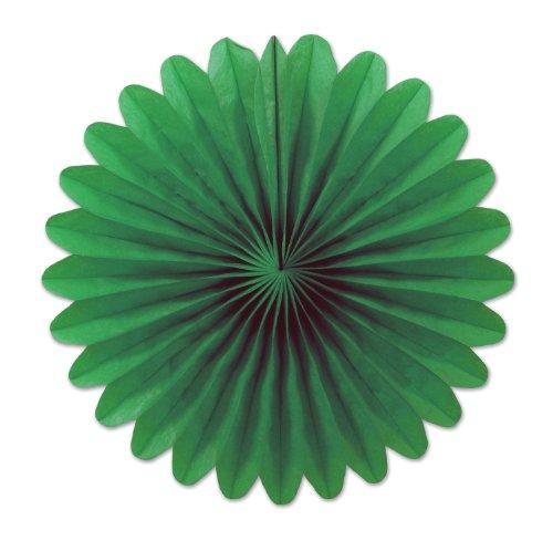 Beistle 54137-G 6-Inch 6-Pack Tissue Fans, Mini