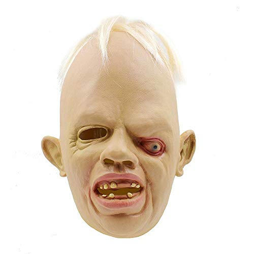 Circlefly Schielen Sie Monster Maske Halloween Zombie Maske Cosplay Party Ball Maske