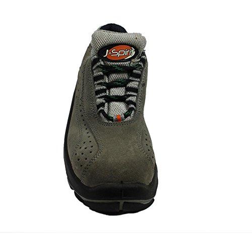 Jallatte jalorion s1P chaussures berufsschuhe 00823 chaussures plates Noir - Noir