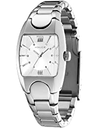Police P11049LS-04M - Reloj de mujer de cuarzo, correa de acero inoxidable color plata