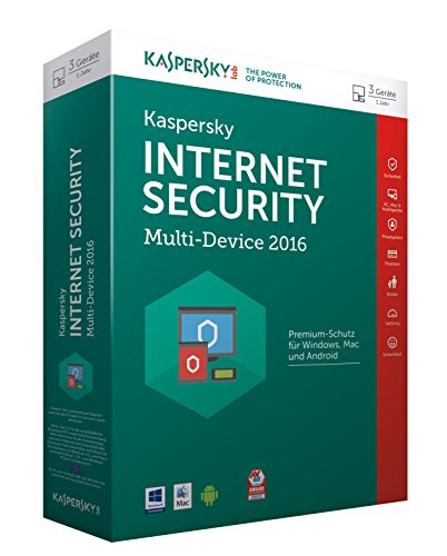Kaspersky Internet Security Multi-Device 2016 - 3 Geräte / 1 Jahr Ab System-tester