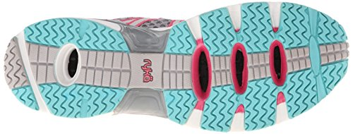 Sport donna acqua Hydro ryka Sport fitness Aqua scarpe Silver Cloud/Cool Mist Grey/Winter Blue/Pink