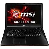 MSI GP72-6QE8H11 001795-SKU1103 43,9 cm (17,3 Zoll) Notebook (Intel Core i7 6700HQ, 8GB RAM, 1TB HDD, 128GB SSD, NVIDIA GeForce GTX 950M, Win 10 Home) schwarz