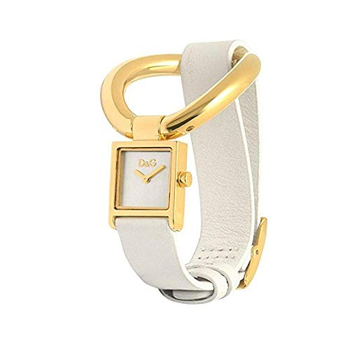 Dolce&Gabbana - DW0404 - Montre Femme - Quartz Analogique - Bracelet Cuir Blanc
