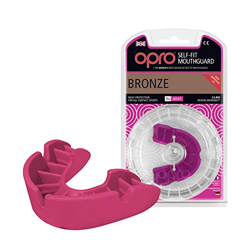 OPRO Protector bucal Bronce | Protector Goma Rugby