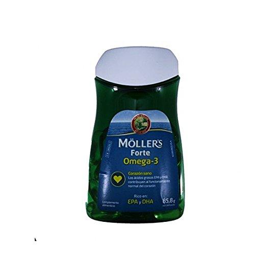 MOLLERS Forte omega-3, 60capsulas de 1gr.