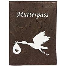 7af019be5a simaru Madre per passaporto in pregiata pelle di sughero, Madre per  passaporto con stampa di