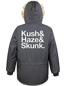 Kush & Haze & Skunk Parka Girls Nero Certified Freak
