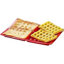 hangnuo rectangular gofres Biscuit mold molde silicona 4Cavidad Molde de tarta DIY Hornear Decoración Herramientas